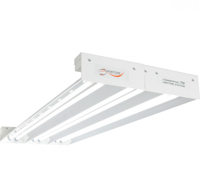 Quantum T5 432w 4 Foot X 6 Fixture No Lamps