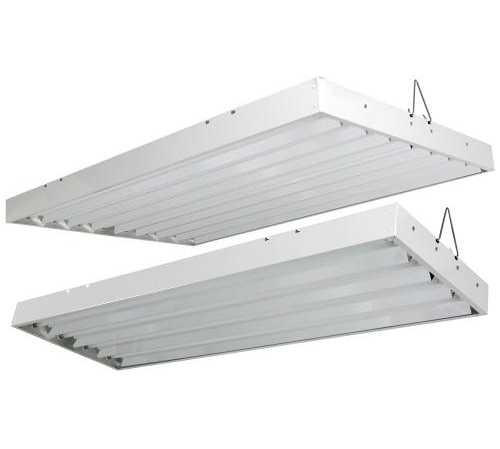 Solar Flare T5 HO Fluorescent Light Fixtures - 120 & 240 Volt - Sun ...