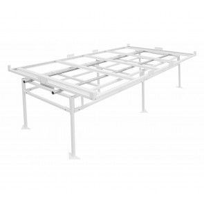 Fast Fit Rolling Bench Tray Stand - 4 ft x 8 ft