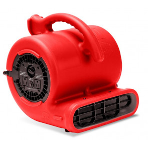 B-Air Air Mover 3 Speed Vent - 2.1 Amp - Red - 1/4 HP (84/Pallet)