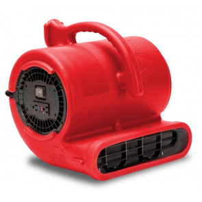 B-Air Air Mover 3 Speed Vent - 2.9 Amp - Red - 1/3 HP (45/Pallet)