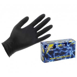 Black Lightning Powder-Free Nitrile Gloves