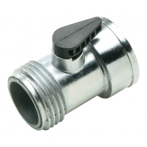 Bond Metal Y Hose Connector w/ Shut-Off - 3/4-Inch