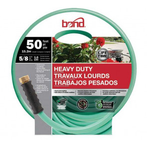 Bond Heavy Duty Garden Hose - 5/8-Inch x 50' (Green)