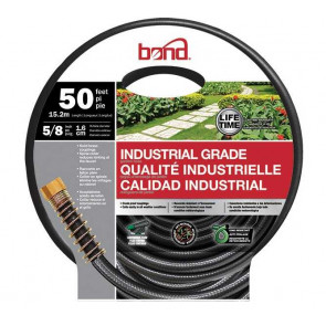 Bond Industrial Grade Hose - 5/8-Inch x 50' (Gray)