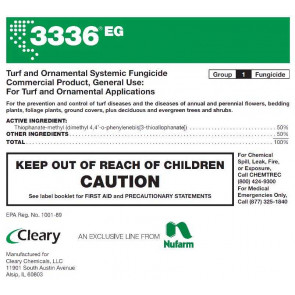 Cleary 3336 EG Fungicide - 5 Pounds