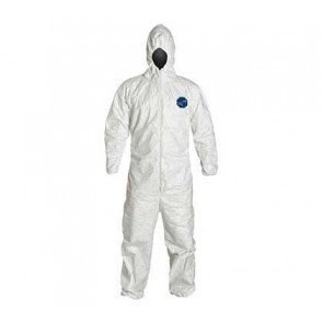Dupont Tyvek Coveralls w/ Hood and Boots