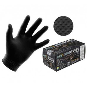 Grower's Edge Black Diamond Textured Powder-Free Nitrile Gloves