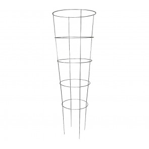 Grower's Edge High Statkes Commercial Grade Tomato Cage 5-Ring - 72-Inch