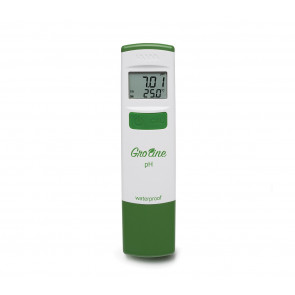 Hanna GroLine Waterproof pH Tester with Case and Solutions