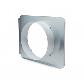Quest Return Air Duct Collar for Overhead Style Dehumidifier - 105, 155, 205, & 215 Only