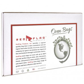 RedFlag Products Original Turkey Bags - 18-Inch x 25-Inch - 100/Pack (10/Cs)