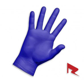 RedFlag Products Blue Nitrile Gloves - Powder-Free 2.5mm