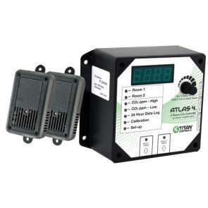 Atlas 4 - 2 Room CO2 Monitor/Controller..