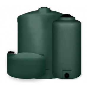 "Vertical Water Tanks - Green (1 1/2"" Inlet & 2"" Outlet)"